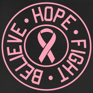 Believe, Hope, Fight. Breast Cancer Women's T-Shirts - Leggings