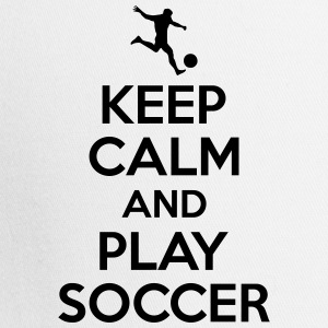 Keep calm and play soccer T-Shirts - Trucker Cap