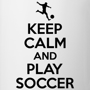 Keep calm and play soccer T-Shirts - Coffee/Tea Mug