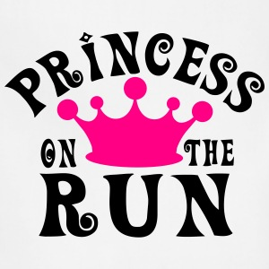 Princess on the run Women's T-Shirts - Adjustable Apron