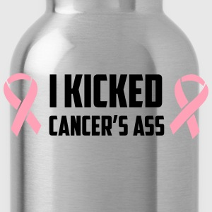 I kicked cancer's ass T-Shirts - Water Bottle