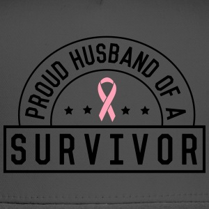 Proud Husband of a Survivor T-Shirts - Trucker Cap