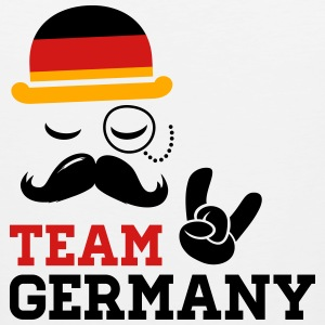 Team Germany German Deutschland Deutsch style flag T-Shirts - Men's Premium Tank