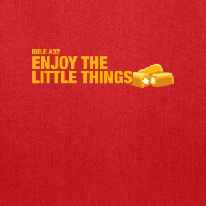 Zombieland - Rule #32: Enjoy the little things' - Tote Bag