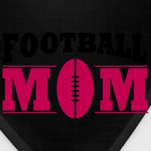 Football Mom Women's T-Shirts - Bandana