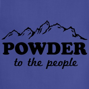 Powder to the People T-Shirts - Adjustable Apron