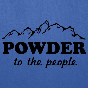Powder to the People T-Shirts - Tote Bag