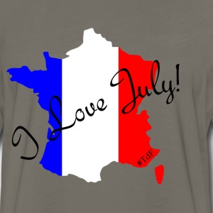 I love July - Tour de France T-Shirts - Men's Premium Long Sleeve T-Shirt