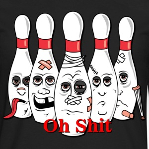 bowling - Men's Premium Long Sleeve T-Shirt