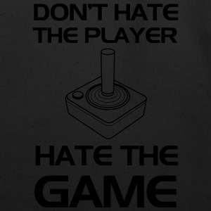 Old School Gaming. Don't Hate the Player T-Shirts - Eco-Friendly Cotton Tote