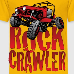 Red Jeep Rock Crawler Light Kids' Shirts - Toddler Premium T-Shirt