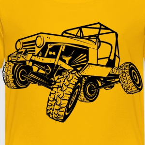 Monster Cool Jeep Kids' Shirts - Toddler Premium T-Shirt