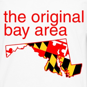 maryland: the original bay area T-Shirts - Men's Premium Long Sleeve T-Shirt