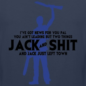 2 Things: Jack and Sh*t T-Shirts - Men's Premium Tank