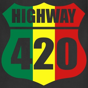 highway 420 T-Shirts - Adjustable Apron