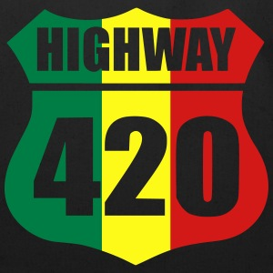 highway 420 T-Shirts - Eco-Friendly Cotton Tote