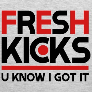 fresh kicks T-Shirts - Men's Premium Tank