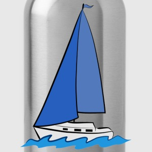 sailboat T-Shirts - Water Bottle