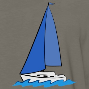 sailboat T-Shirts - Men's Premium Long Sleeve T-Shirt