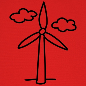 windmill - wind turbine T-Shirts - Baseball Cap