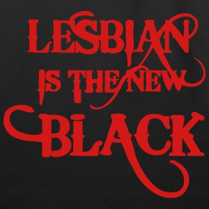 LESBIAN IS THE NEW BLACK Women's T-Shirts - Eco-Friendly Cotton Tote