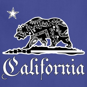 CALIFORNIA BANDANA T-Shirts - Adjustable Apron