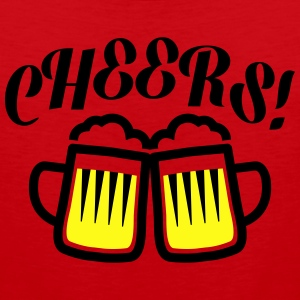 cheers T-Shirts - Men's Premium Tank
