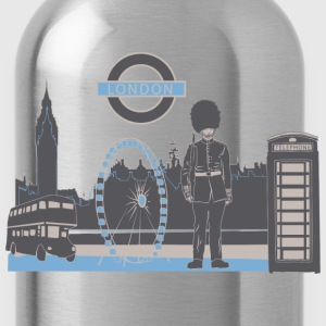 London with Love T-Shirts - Water Bottle