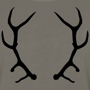 deer head / antlers T-Shirts - Men's Premium Long Sleeve T-Shirt