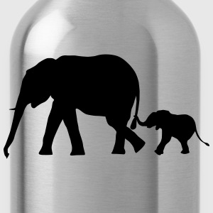 Elephants - Elephant T-Shirts - Water Bottle