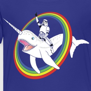 Epic Narwhal  - Toddler Premium T-Shirt