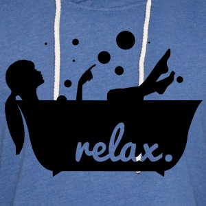 relax in a bathtub T-Shirts - Unisex Lightweight Terry Hoodie