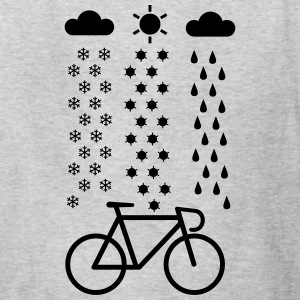 All Seasons Cyclist T-Shirts - Kids' T-Shirt