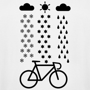 All Seasons Cyclist T-Shirts - Men's Tall T-Shirt