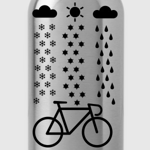 All Seasons Cyclist T-Shirts - Water Bottle