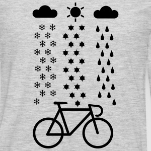 All Seasons Cyclist T-Shirts - Men's Premium Long Sleeve T-Shirt