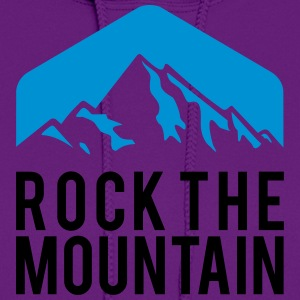 ROCK THE MOUNTAIN Women's T-Shirts - Women's Hoodie