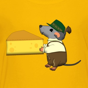 Bavarian mouse cheese Kids' Shirts - Toddler Premium T-Shirt