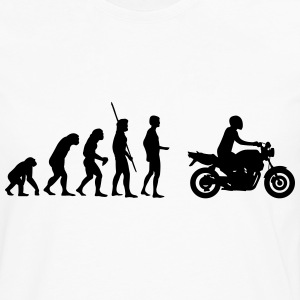Evolution motorcycle Naked Bike Shirt - Men's Premium Long Sleeve T-Shirt