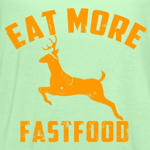 eat more fast food - Women's Flowy Tank Top by Bella
