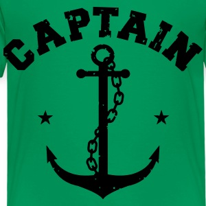 CAPTAIN ANCHOR Kids' Shirts - Toddler Premium T-Shirt