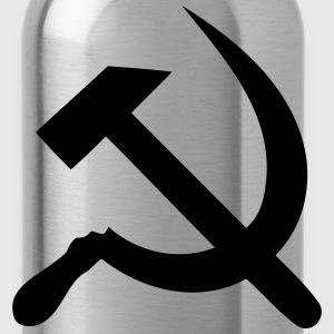 hammer - sickle T-Shirts - Water Bottle