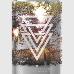 mystic forest triangles T-Shirts - Water Bottle