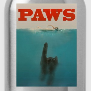Paws Plakat Women's T-Shirts - Water Bottle