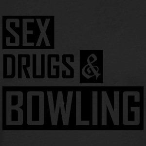 sex drugs and bowling T-Shirts - Men's Premium Long Sleeve T-Shirt