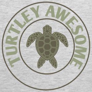 Turtley Awesome T-Shirts - Men's Premium Tank