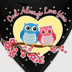 owl always love you Women's T-Shirts - Bandana