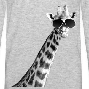 Cool Giraffe - Men's Premium Long Sleeve T-Shirt