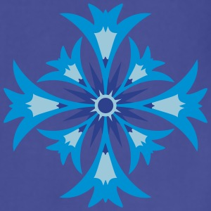 A stylized blossom of cornflower T-Shirts - Adjustable Apron