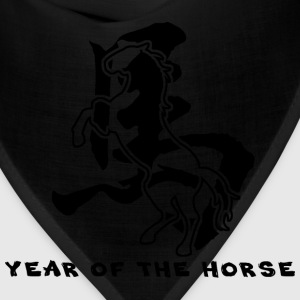 Year of The Horse T-Shirt - Bandana